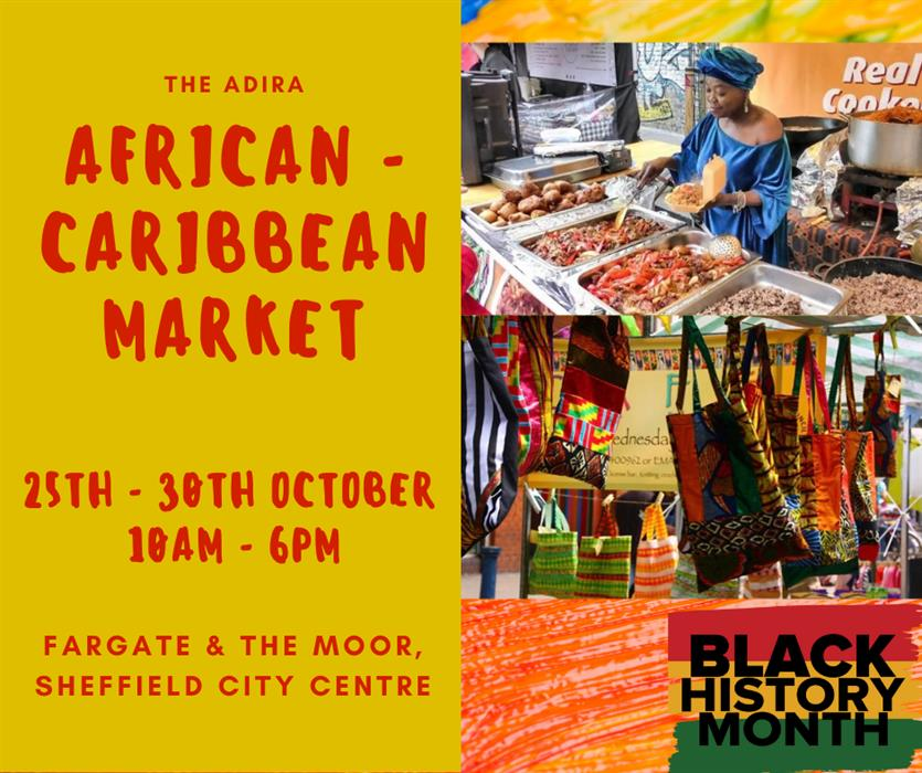 Black History Month: Visit Sheffield's First African-Caribbean Market