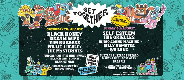 The poster for Get Together