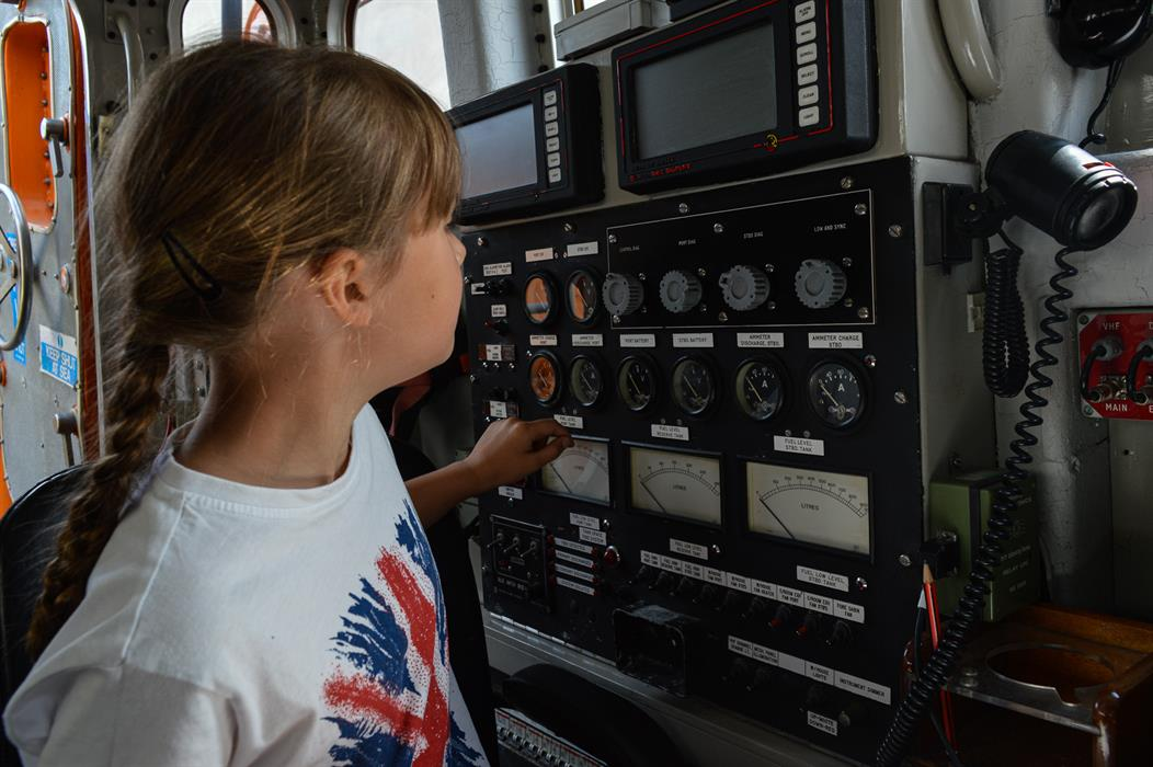 Jump on board: lifeboat tours