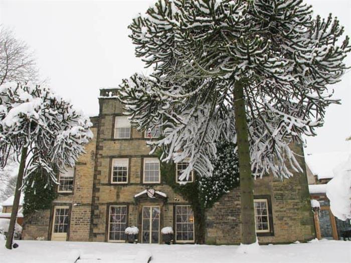 Mosborough Hall Hotel in the snow.